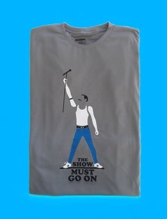 CAMISETA ROCK FREDDIE MERCURY - QUEEN na internet