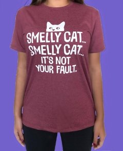 CAMISETA SERIE FRIENDS - SMELLY CAT - comprar online