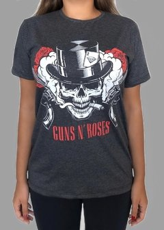 CAMISETA ROCK GUNS AND ROSES - comprar online