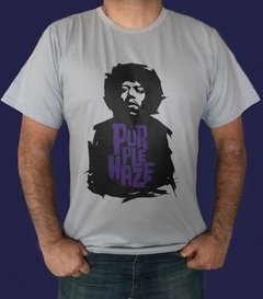 CAMISETA ROCK JIMI HENDRIX - PURPLE HAZE