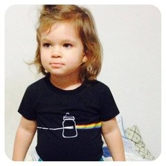 CAMISETA INFANTIL PINK FLOYD ROCK - DARK SIDE OF MAMADEIRA