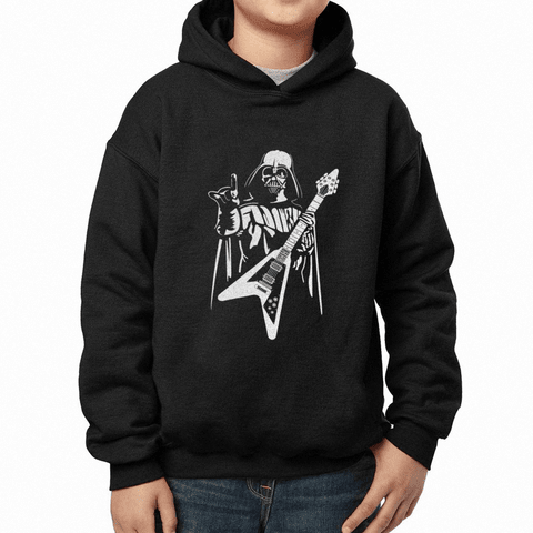 MOLETOM INFANTIL COM CAPUZ STAR WARS DARTH VADER  - DARTH ROCK