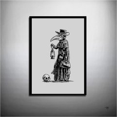 POSTER THE PLAGUE DOCTOR - comprar online