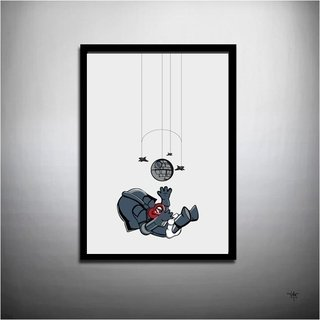 POSTER INFANTIL STAR WARS - DARTH BABY