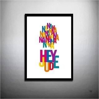 POSTER HEY JUDE - BEATLES