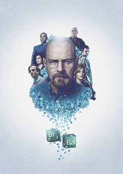 POSTER BREAKING BAD 3 na internet
