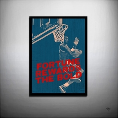 POSTER FILME BASKETBALL LENDA MICHAEL JORDAN - THE BOLD
