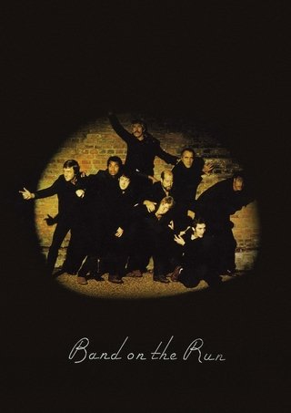 POSTER PAUL MCCARTNEY - BAND ON THE RUN - comprar online