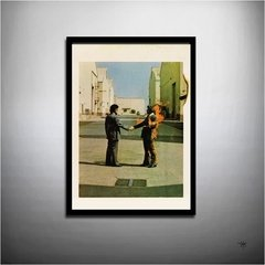 POSTER ROCK PINK FLOYD - WISH YOU WERE HERE