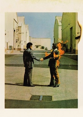 POSTER ROCK PINK FLOYD - WISH YOU WERE HERE - comprar online