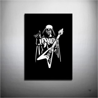 POSTER DARTH VADER - DARTH ROCK
