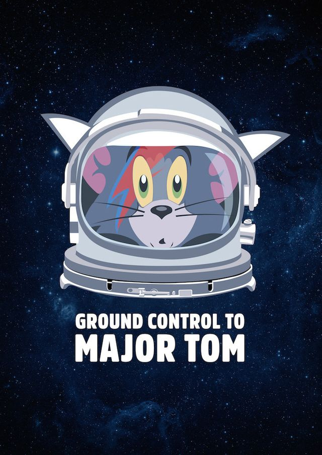 POSTER DAVID BOWIE - MAJOR TOM - comprar online
