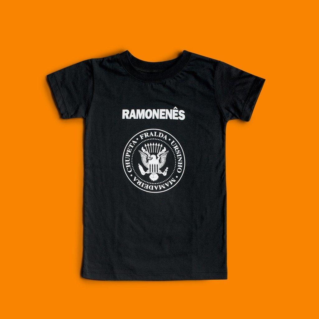 dc25f60efc072 CAMISETA INFANTIL RAMONES ROCK - RAMONENÊS