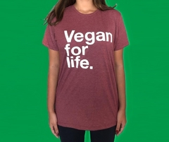 KIT TAL PAI TAL FILHO CAMISETA + BODY DE BEBE - VEGAN FOR LIFE - VEGANO na internet