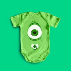 BODY BEBE DIVERTIDO MIKE - MONSTROS SA - comprar online