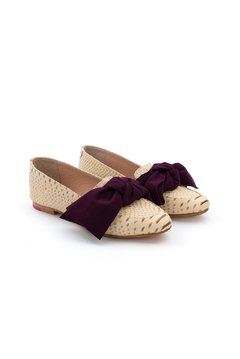Mocasin Super Bow Nude / Mora