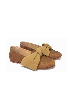 Mocasin Polly Bow Suela (Desmontable) en internet
