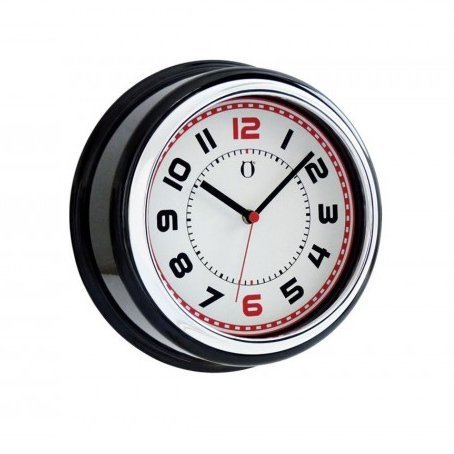 Reloj de Pared Retro Clock - negro