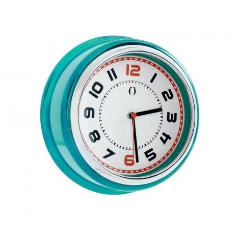 Reloj de Pared Retro Clock - turquesa