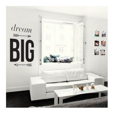 Vinilo Decorativo Dream Big - frase003 en internet