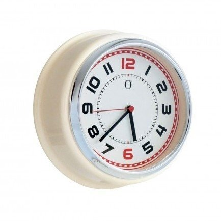 Reloj de Pared Retro Clock - marfil