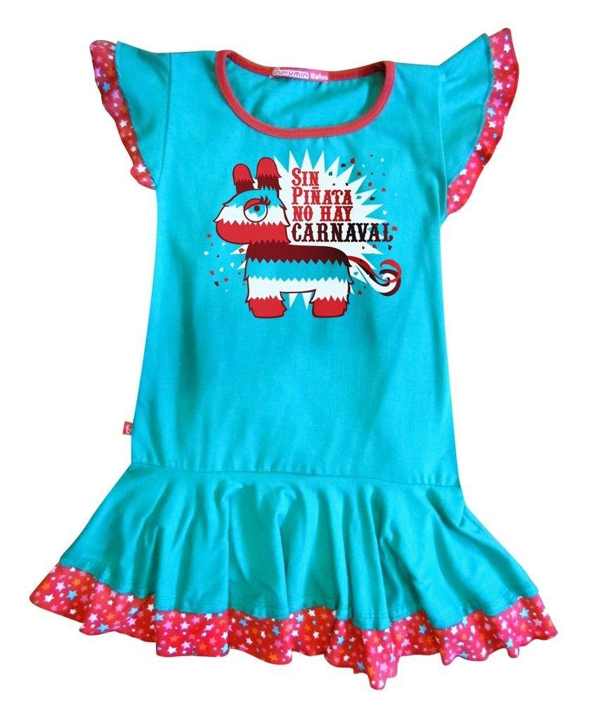 36697a6b9d Vestido Piñata Mexicana - Comprar en Ropita Gurrumin