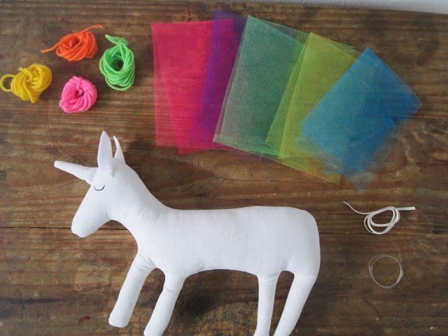 Set para decorar tu UNICORNIO