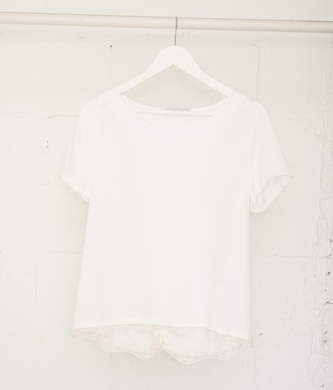 Remera Bernardette Off White
