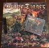 CD GRAVE DIGGER -Fields of Blood [ SOUTH AMERICAN LTD. EDITION + SLIPCASE + POSTER ]
