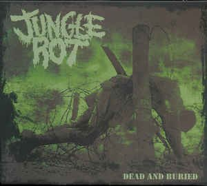 CD JUNGLE ROT - Dead and Buried (south america slipcase edition)