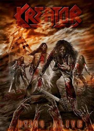 Kreator - Dying Alive ( 1 dvd + 2 cd's)