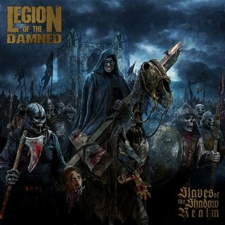 CD LEGION OF THE DAMNED - SLAVES OF THE SHADOW REALM [slipcase edition + poster]
