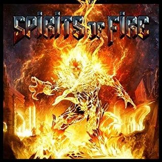 CD SPIRITS OF FIRE - Spirits of Fire [caixa acrílica com slipcase / versão nacional]
