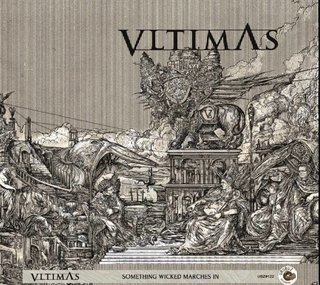 CD VLTIMAS -  Something Wicked Marches In (SLIPCASE + jewel case edition)