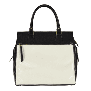 CAROLA large-square leather bag (Cod. 2603)