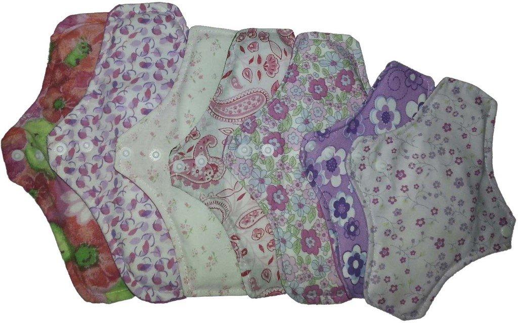 protector y toallitas femeninas de algodon