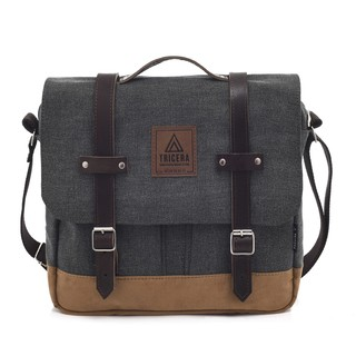 SATCHEL ROUGH BLACK