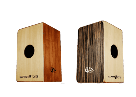 Cajón GM Custom 2 Fronts (Flamenco y Peruano)