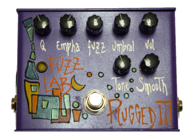 Pedal para Guitarra Plugged It! Fuzz Lab