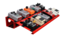 Pedalboard para 10/12 pedales Pedal Hole Vulcano + Soft Case