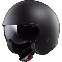 CASCO LS2 599 JET SPITFIRE MATT BLACK