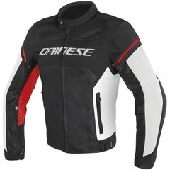 Campera Dainese Air Frame D1 Negro/blanco/rojo