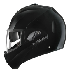 CASCO SHARK EVOLINE 3 MATT BLACK en internet