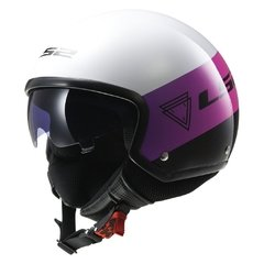 CASCO LS2 561 WAVE BEAT PINK FLUO