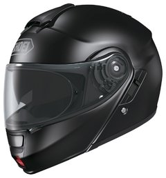 Casco Shoei Neotec rebatible Negro brilloso