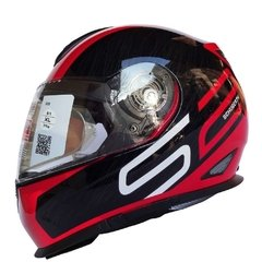 casco schuberth S2 DRAG RED
