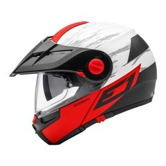 casco schuberth E1 Crossfire Red TALLE M