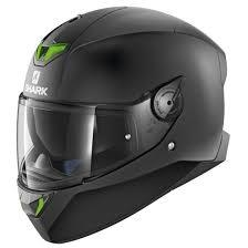 CASCO SHARK SKWAL 2 MATT BLACK