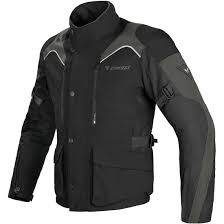 CAMPERA DAINESE TEMPEST D-DRY NEGRA CON GRIS