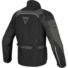 CAMPERA DAINESE TEMPEST D-DRY NEGRA CON GRIS - comprar online